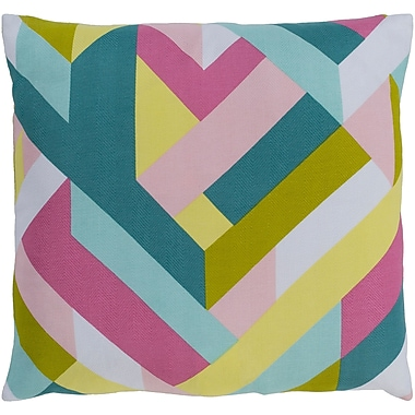 Varick Gallery Sersic 100pct Cotton Pillow Cover; 20'' H x 20'' W