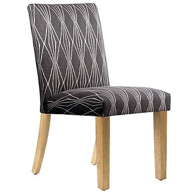 Varick Gallery Aspasia Side Chair; Charcoal