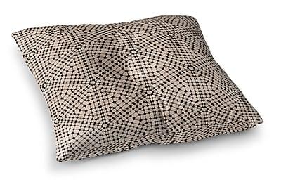 Varick Gallery Balam Haxagon Floor Pillow; 8'' H x 23'' W x 23'' D