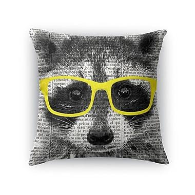 Varick Gallery Baldree Blocks Throw Pillow; 24'' H x 24'' W x 6'' D