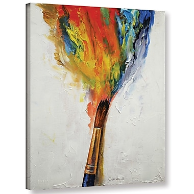 Varick Gallery Paint Painting Print on Wrapped Canvas; 48'' H x 36'' W x 2'' D