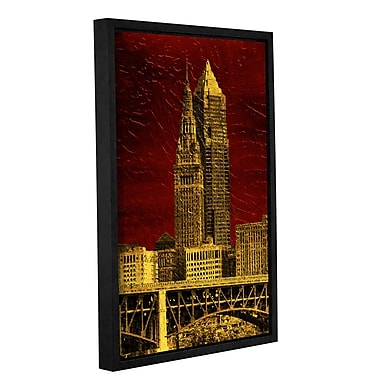 Varick Gallery The Land Framed Graphic Art on Wrapped Canvas; 18'' H x 12'' W x 2'' D