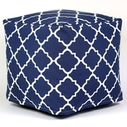Varick Gallery Cribb Square Outdoor Beanbag Ottoman