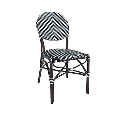 Varick Gallery Birk Cafe Stacking Dining Side Chair