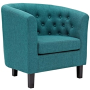 Varick Gallery Birnbaum Chesterfield Chair; Teal