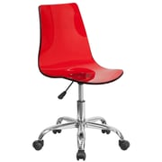 Varick Gallery Hutto Desk Chair; Red