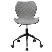 Varick Gallery Randall Modern Height Adjutable Low-Back Office Task Chair; Gray