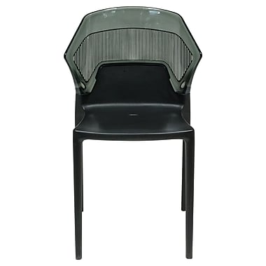 Varick Gallery Shaul Two-Tone Stacking Dining Side Chair (Set of 2) (Set of 2)
