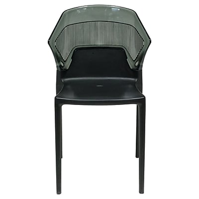 Varick Gallery Shaul Two-Tone Stacking Dining Side Chair