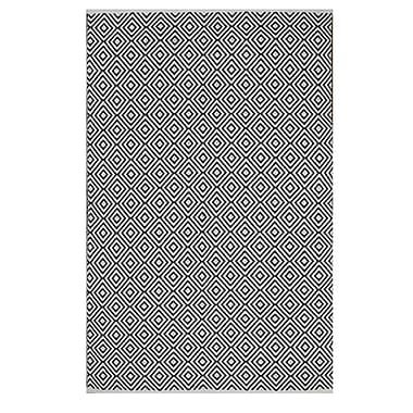 Varick Gallery Criswell Black Area Rug; 8' x 10'