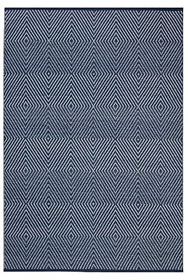 Varick Gallery Criswell Dark Blue Area Rug; 8' x 10'