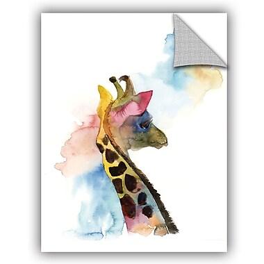 Varick Gallery Cronan Giraffe I Wall Decal; 32'' H x 24'' W x 0.1'' D
