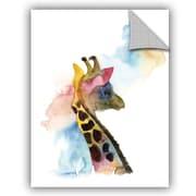 Varick Gallery Cronan Giraffe I Wall Decal; 48'' H x 36'' W x 0.1'' D