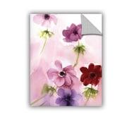 Varick Gallery Cronin Purple Floral Wall Decal; 48'' H x 36'' W x 0.1'' D