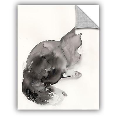 Varick Gallery Cronan Cat Rest Wall Decal; 18'' H x 14'' W x 0.1'' D