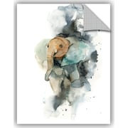 Varick Gallery Cronan Baby Elephant Wall Decal; 48'' H x 36'' W x 0.1'' D