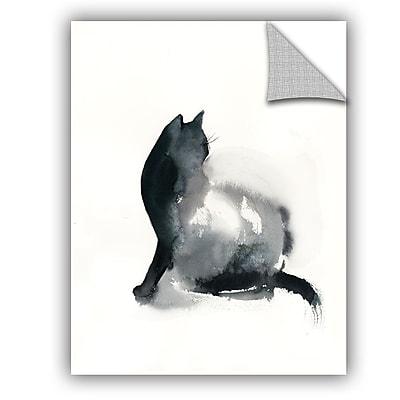 Varick Gallery Cronan Cat Love Wall Decal; 48'' H x 36'' W x 0.1'' D