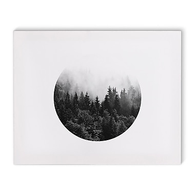 Varick Gallery 'Mountain' Photographic Print on Canvas; 24'' H x 36'' W
