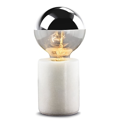 Orren Ellis Carlena Marble 8'' Table Lamp
