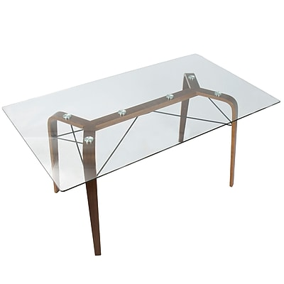 Varick Gallery Armour Square Mid-Century Modern Dining Table