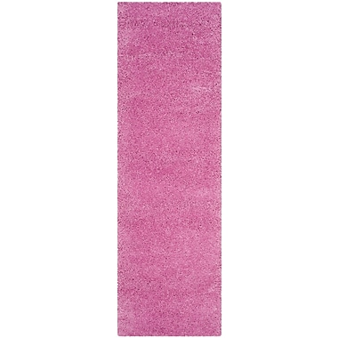 Varick Gallery Vandoren Pink Area Rug; Runner 2'3'' x 7'