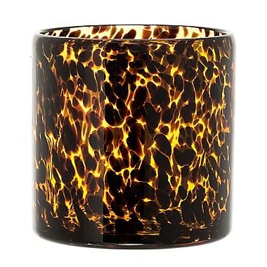 Varick Gallery Contemporary Glass Votive; 4.75'' H x 4.75'' W x 4.75'' D