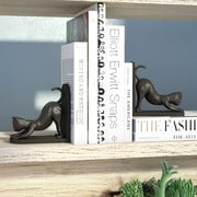 Varick Gallery Stretching Cats Metal Book Ends
