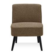 Varick Gallery Vento Vintage Slipper Chair; Brown