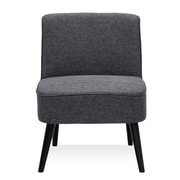 Varick Gallery Vento Vintage Slipper Chair; Dark Gray