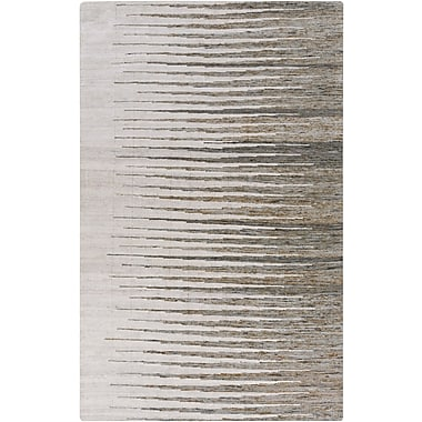Varick Gallery Vaughn Light Gray Geometric Rug; 2' x 3'