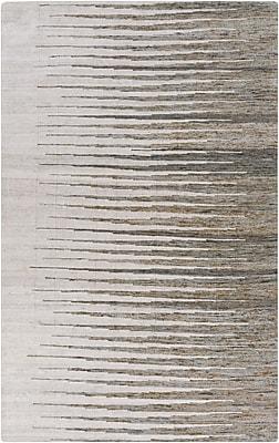 Varick Gallery Vaughn Light Gray Geometric Rug; 5' x 8'