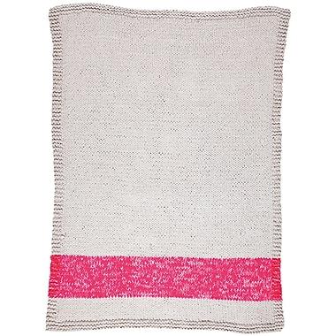 Varick Gallery Veasley Hand-Woven Pink/Beige Area Rug; 2' x 3'