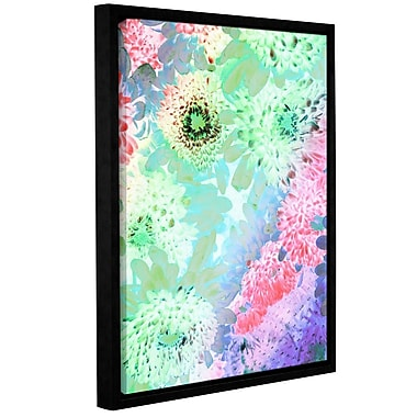 Varick Gallery 'Toward the Light' Framed Graphic Art Print on Canvas; 10'' H x 8'' W x 2'' D