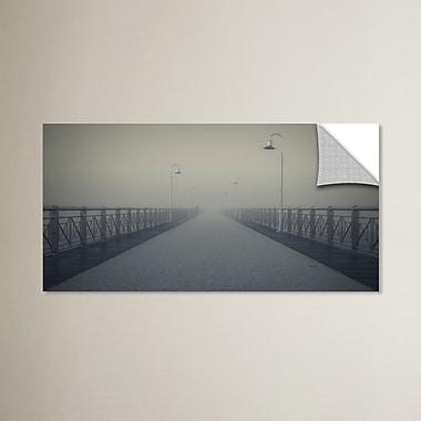 Varick Gallery Confused Horizon Photographic Print; 18'' H x 36'' W x 0.1'' D