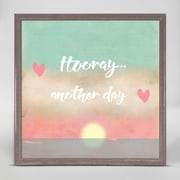 Varick Gallery 'Hooray... Another Day' Framed Acrylic Painting Print on Canvas