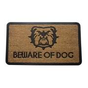 Varick Gallery Waites Beware of Dogs Doormat