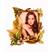 World Menagerie Florals and Leafs Picture Frame