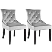 Willa Arlo Interiors Lindsey Wood Frame Side Chair (Set of 2)