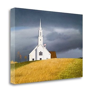 Tangletown Fine Art 'Faith' Graphic Art Print on Canvas; 17'' H x 24'' W