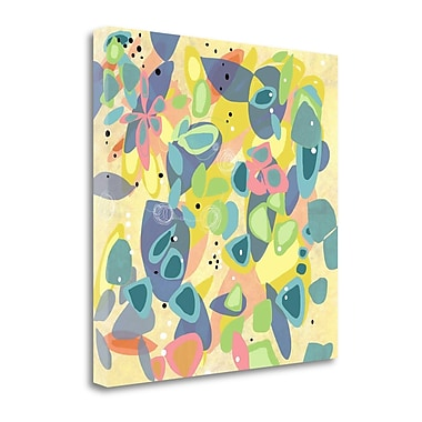 Tangletown Fine Art 'Falling on Water 1' Print on Canvas; 25'' H x 25'' W