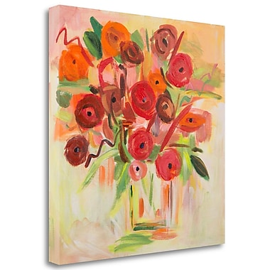 Tangletown Fine Art 'Floral Morning' Print on Canvas; 20'' H x 20'' W