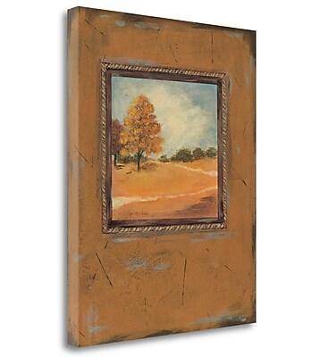 Tangletown Fine Art 'Copper Landscape' Print on Canvas; 28'' H x 23'' W