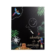 Zoomie Kids Pirates Ahoy Wall Hanging Dry Erase Board