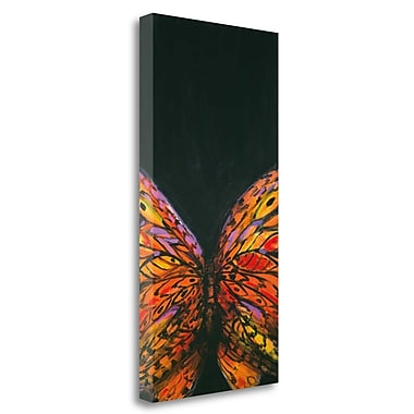 Tangletown Fine Art 'Crop Butterfly' Print on Wrapped Canvas; 29'' H x 15'' W