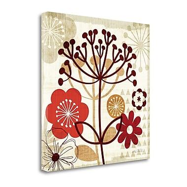 Tangletown Fine Art 'Floral Pop II' Graphic Art Print on Canvas; 24'' H x 24'' W