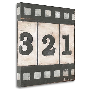 Tangletown Fine Art 'Film' Textual Art on Canvas; 24'' H x 24'' W