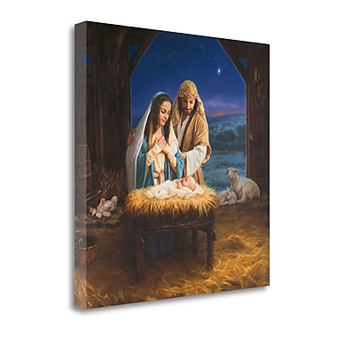Tangletown Fine Art 'Our Savior' Graphic Art Print on Canvas; 30'' H x 30'' W