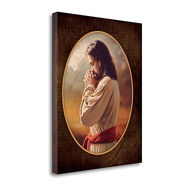 Tangletown Fine Art 'Our Father' Graphic Art Print on Canvas; 28'' H x 23'' W