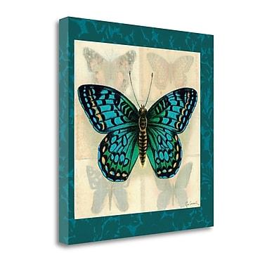 Tangletown Fine Art 'Silk Butterfly I' Graphic Art Print on Canvas; 20'' H x 20'' W