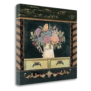 Tangletown Fine Art 'Porcelain I' Print on Canvas; 34'' H x 37'' W
